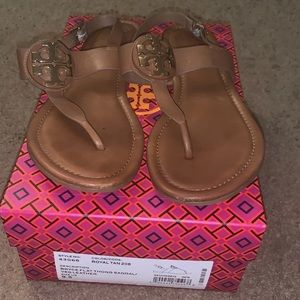 Tory Burch Tan Bruce Sandals 9.5